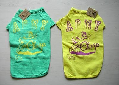 DOTTIEアーミーチャンプTシャツ